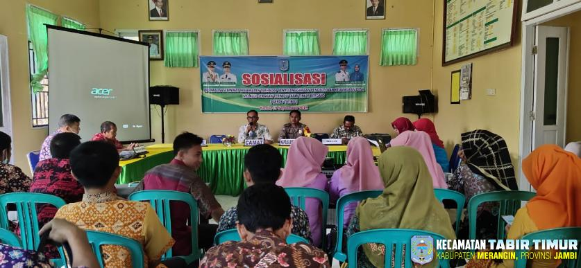 Ikut Diklatpim III, Camat Tabir Timur Gelar Sosialisasi Pembinaan Pengelolaan Keuangan...