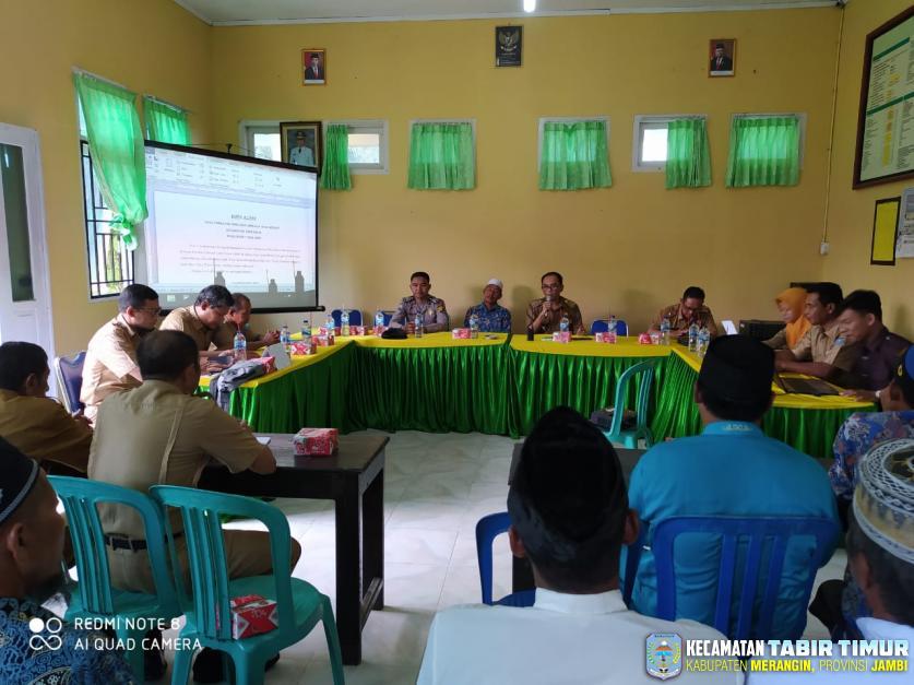 Pemilihan Pengurus Lembaga Adat Melayu (LAM) Kecamatan Tabir Timur Masa Bakti 2020-2025