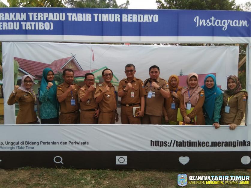 Penilaian Camat Teladan, Tim Penilai Provinsi Jambi Turun ke Kecamatan Tabir Timur