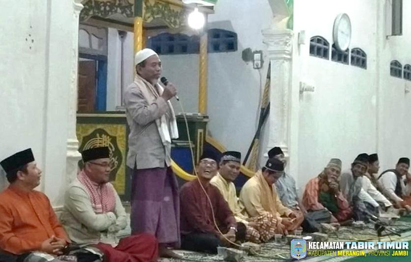 Wabup Merangin Safari Ramadhan ke Desa Bukit Subur