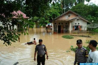 Empat Kecamatan Dilanda Banjir, Siswa Peserta UN Diungsikan