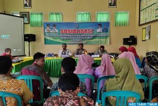 Ikut Diklatpim III, Camat Tabir Timur Gelar Sosialisasi...