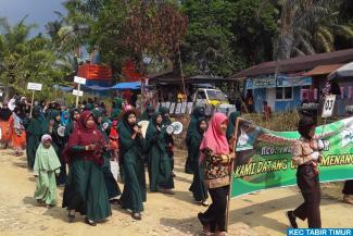 Pelaksanaan MTQ Ke-2 Tingkat Kecamatan Tabir Timur, di...