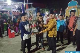 Penutupan MTQ ke-2  Tingkat Kecamatan Tabir Timur dan...