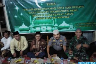 Wakili Camat, Sekcam Hadiri Peringati Hari Besar Islam...