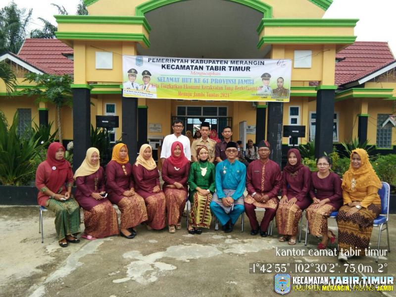 Galeri Foto Kantor Camat Tabir Timur Kecamatan Tabir Timur Kabupaten Merangin