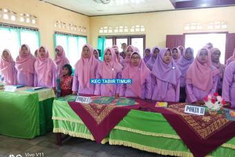 Kegiatan Pelatihan Kader PKK Kecamatan Tabir Timur