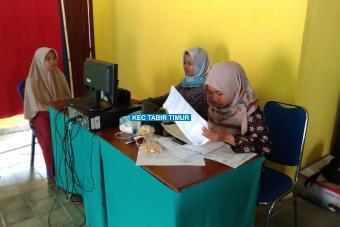 Rekaman E-KTP di Desa Se-Kecamatan Tabir Timur