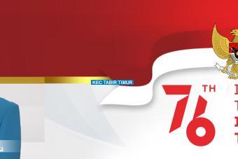 Selamat Hari Kemerdekaan ke-76 Republik Indonesia!