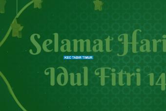 Selamat Hari Raya Idul Fitri, Minal Aidin Wal Faizin