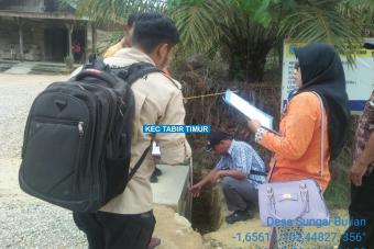 Pembuatan Plat Deker Jalan Parkit I Tahap I Desa Sungai Bulian