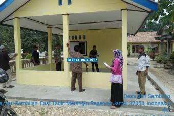 Pembangunan Gedung Posyandu Jalan Jayapura Tahap II Desa Seri Sembilan