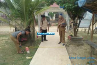 Pembangunan Rapat Beton Dusun Kembang Bungo Tahap I Desa Sungai Limau