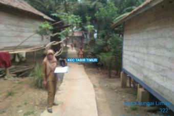 Pembangunan Rapat Beton Dusun Rantau Tenang Tahap II Desa Sungai Limau