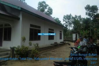 Rehab Gedung Posyandu Jalan Glatik Tahap II Desa Sungai Bulian