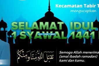SELAMAT  IDUL FITRI 1 SYAWAL 1441 H