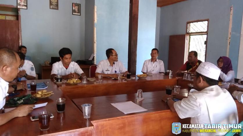 Monev Kecamatan Tabir Timur terhadap Desa Bukit Subur
