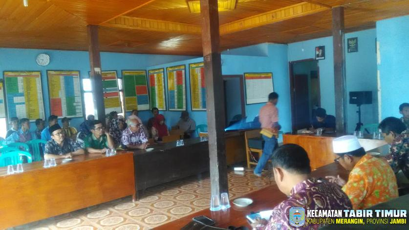 Pelaksanaan Musdes RKP Desa Bukit Subur untuk Pelaksanaannya Tahun 2020