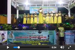 MTQ tingkat Kecamatan Tabir Timur ke-1 Video 1